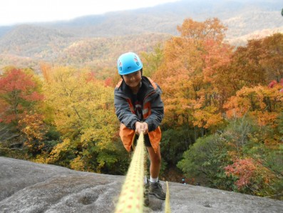 Fall clambering